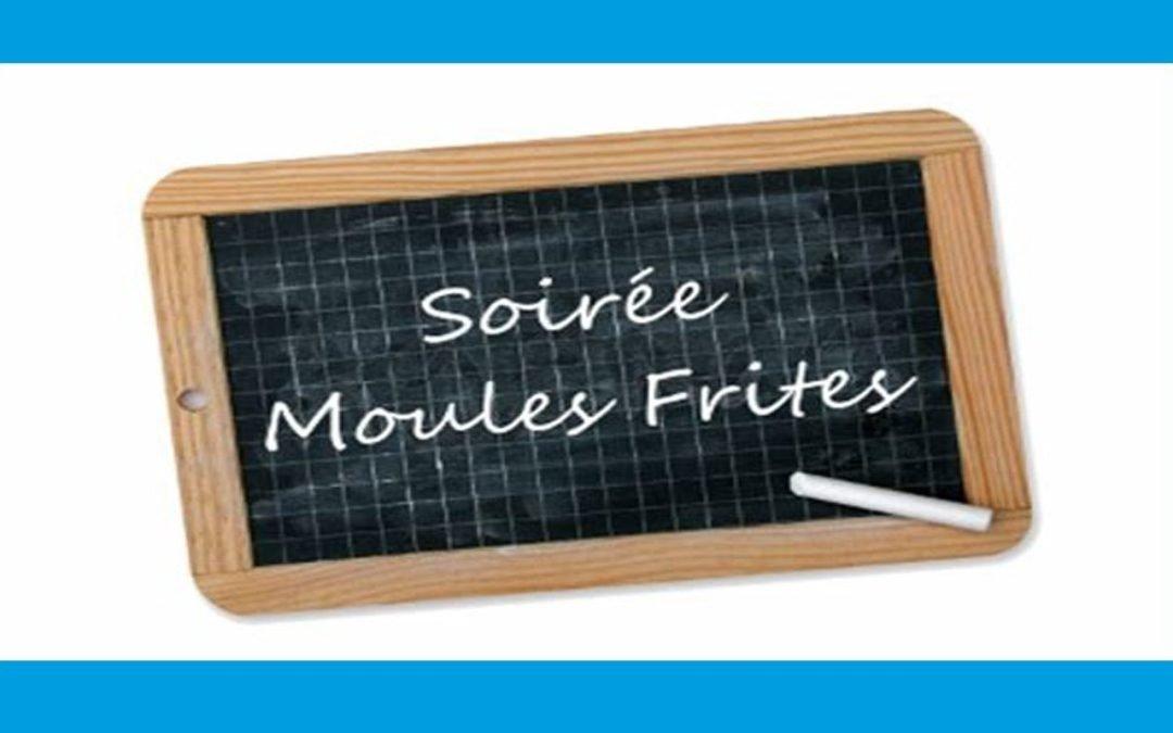 Repas moules frites le 16 février 2019