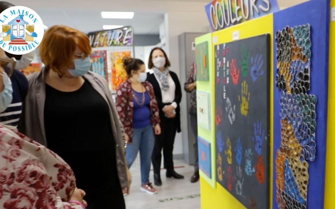 L'Exposition «Recyclage en couleurs» à la Maison du Possible